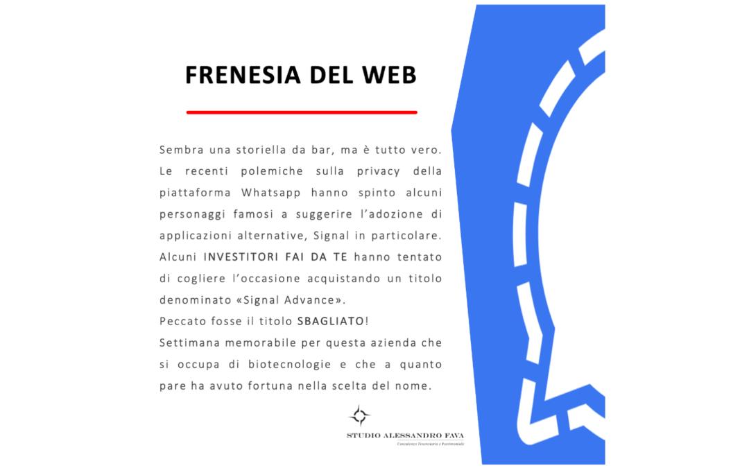FRENESIA DEL WEB